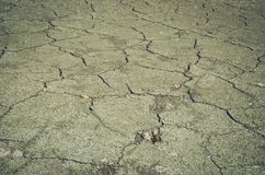 Dry cracked earth image Royalty Free Stock Photography