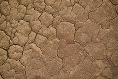 Dry cracked earth during in a rainy season because lack of rain shortage of water cracked soil texture. Dry cracked earth during in a rainy season because lack royalty free stock photos