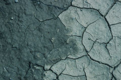 Dry and cracked earth. Texture. Background. The concept of ecology, environment, drought, irrigation royalty free stock photography