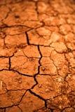 Dry cracked earth texture Stock Photos