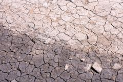 Dry cracked earth texture. Photo Picture of Dry cracked mud earth texture royalty free stock photo