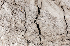 Dry cracked earth texture. Dry soil cracked earth texture Stock Photography