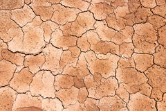 Dry cracked earth texture. Dry cracked surface of earth texture stock image