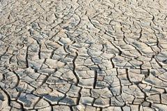 Dry cracked ground. Desert sun royalty free stock image