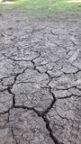 Aspect of drought on earth royalty free stock photo