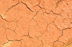 Dry cracked ground filling the frame Royalty Free Stock Photo