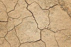 Dry cracked ground Royalty Free Stock Photos