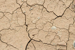 Dry cracked ground Royalty Free Stock Photo