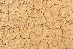 Dry cracked Land Royalty Free Stock Photography