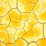 Dry cracked soil closeup Stock Images