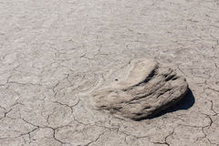 Dry cracked soil Stock Images