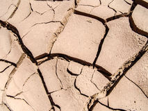Dry and cracked soil Royalty Free Stock Image