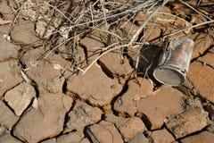 Dry cracks Royalty Free Stock Photos