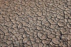 Dry cracks in sands desser Royalty Free Stock Images