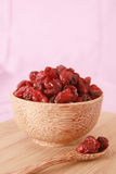 Dry cranberries Royalty Free Stock Photo