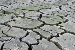 Dry crasked soil Stock Photos