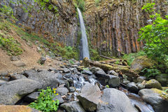 Dry Creek Falls in Columbia River Gorge Stock Photography