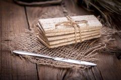 Dry crisp breads. Stock Image