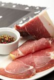 Dry cured ham Stock Photography