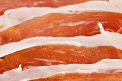 Dry cured ham Stock Image
