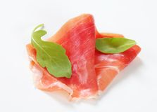 Dry-cured ham Royalty Free Stock Images