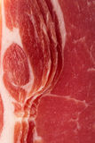 Dry cured ham background fullframe background Stock Photo