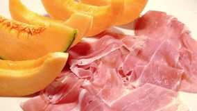 Dry cured ham stock footage