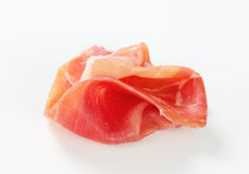 Dry-cured ham Royalty Free Stock Photo