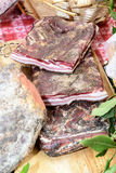 Dry Cured Speck Stock Images