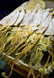 Dry cuttlefish for sale Stock Photos