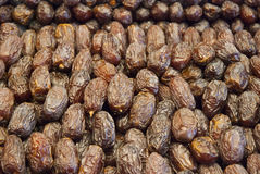 Dry date fruits to sell Royalty Free Stock Photography
