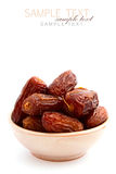 Dry dates Royalty Free Stock Photos