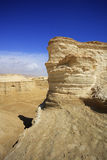 The dry dehydrated canyons in desert Stock Images