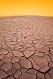 Dry desert Stock Images