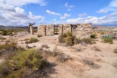 Dry Desert Landscape Royalty Free Stock Images