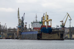 The dry dock Stock Photos