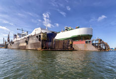 Dry dock Royalty Free Stock Image