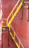 Dry Dock steps Stock Image