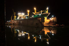 Ship Dry dock  Royalty Free Stock Images