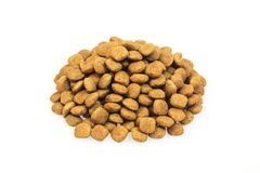 Dry dog food Stock Images
