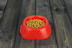 Dry Dog Food Stock Image