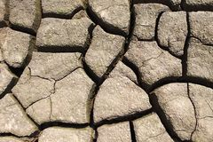 Dry earth stock photography