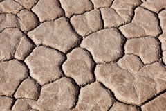Dry earth in the Sahara desert. Royalty Free Stock Photography