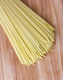 Dry egg noodles. Royalty Free Stock Photography