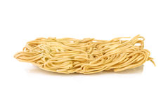 Dry egg noodles Stock Image