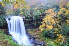 Dry Falls Cullasaja Nantahala Forest Highlands NC Royalty Free Stock Photography