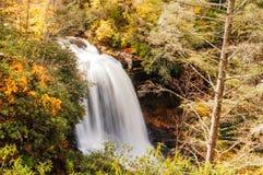 Dry Falls, North Carolina. Royalty Free Stock Images