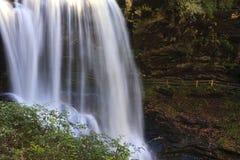 Dry Falls in North Carolina royalty free stock photos