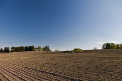 Dry farmland Stock Photos