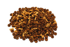 Dry feed for dogs Royalty Free Stock Photos